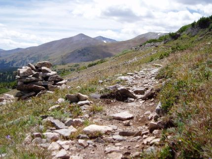 Trail in Ten Mile Range
